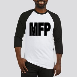 MFP Black Baseball Jersey