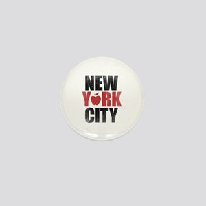 New York City Mini Button