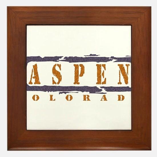 Funny Aspen Framed Tile