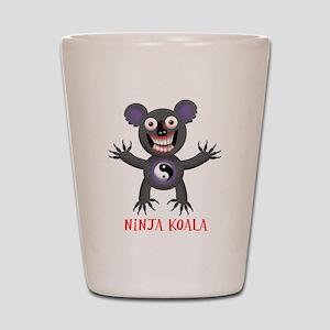 Ninja Koala Shot Glass