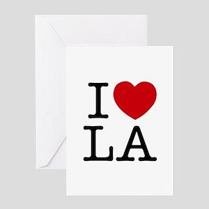 I Heart Los Angeles Greeting Card