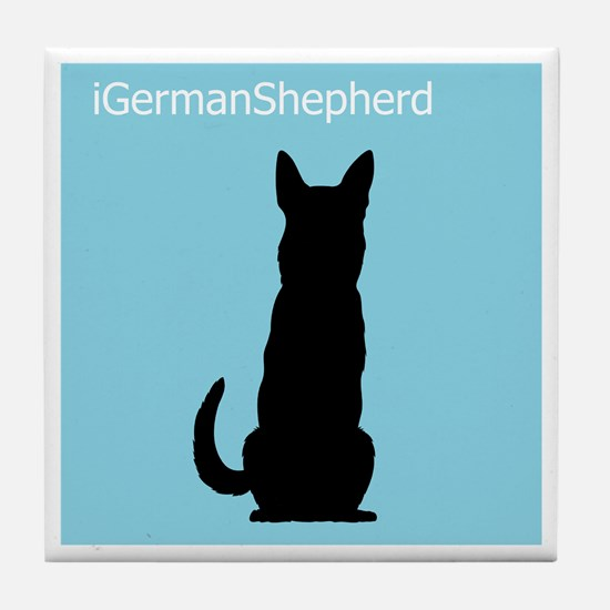 iGermanShepherd Tile Coaster