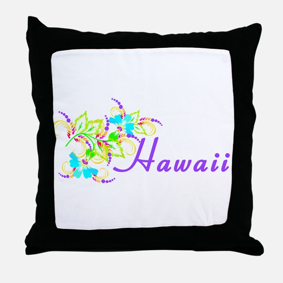 Cute Hawaii Throw Pillow