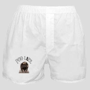 Pug Life Boxer Shorts