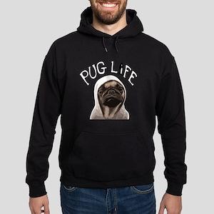 Pug Life Hoodie (dark)