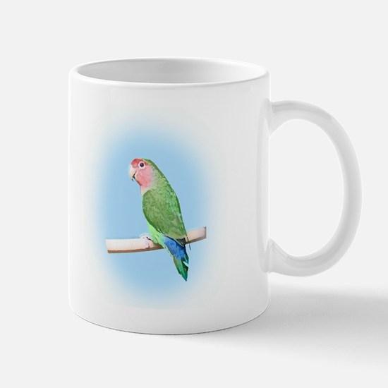 Peachfaced Lovebird Art Mug