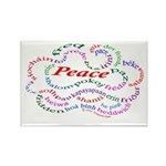 Fred-is-Peace Rectangle Magnet
