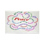 Fred-is-Peace Rectangle Magnet (10 pack)