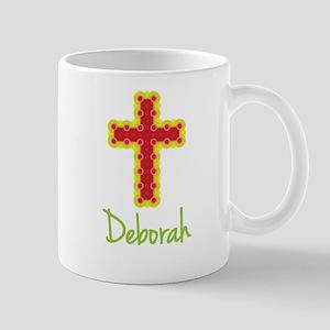 Deborah Bubble Cross Mug