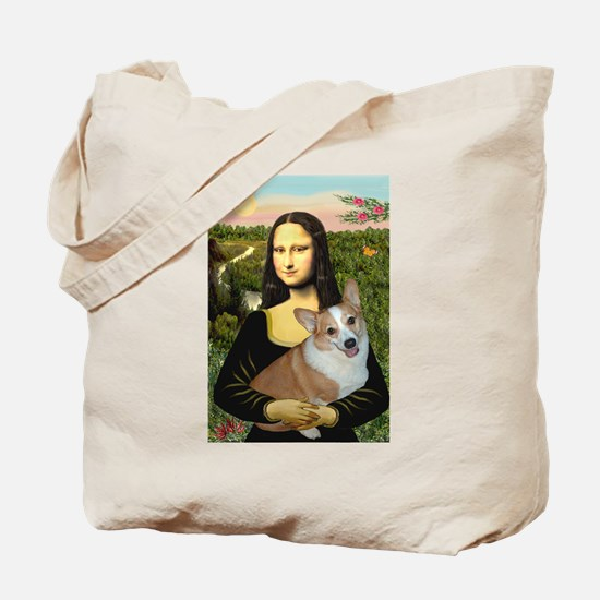 Mona - Corgi (Pembr-L) Tote Bag