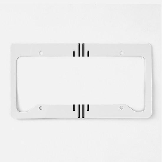 Unique Grand tetons License Plate Holder