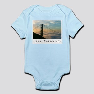 San Francisco Airbrushed Gifts  Infant Creeper