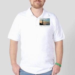 San Francisco Airbrushed Gifts  Golf Shirt