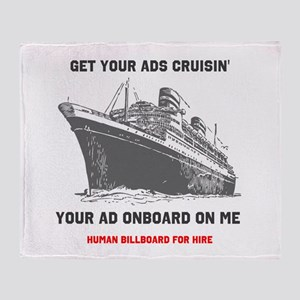 Get your ads cruisin Throw Blanket