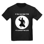 Ninja: If You Can Read This Kids Dark T-Shirt