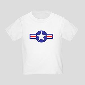 Air Force Star and Bars Toddler T-Shirt