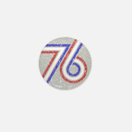 The Spirit of 76 Mini Button