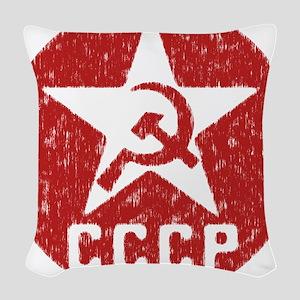 CCCP Woven Throw Pillow