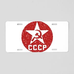 CCCP Aluminum License Plate
