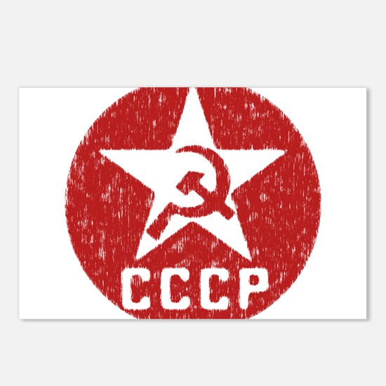 CCCP Postcards (Package of 8)