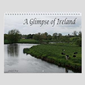 A Glimpse of Ireland Wall Calendar