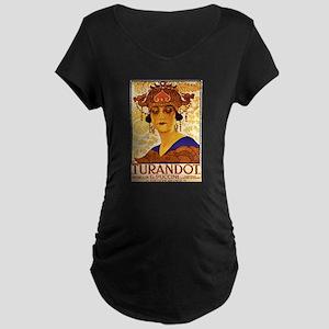 Puccini Maternity Dark T-Shirt