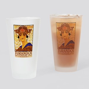 Puccini Drinking Glass