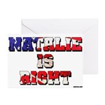 NATALIE IS RIGHT Note Cards (Box of 6)