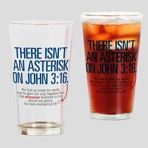 John 3:16 Merchandise Drinking Glass