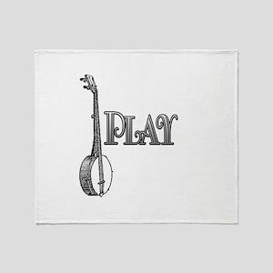 PLAY- BANJO Throw Blanket