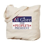 AL GORE Tote Bag