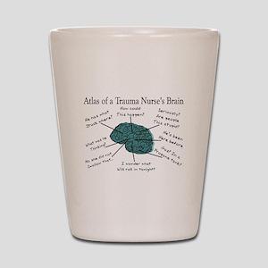 A Nurses's Brain Shot Glass