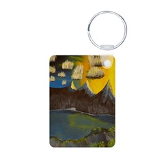 Valley Lake sunset decor/gift Keychains