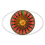 Roulette Sticker (Oval 50 pk)