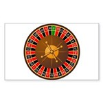 Roulette Sticker (Rectangle)