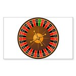Roulette Sticker (Rectangle 10 pk)