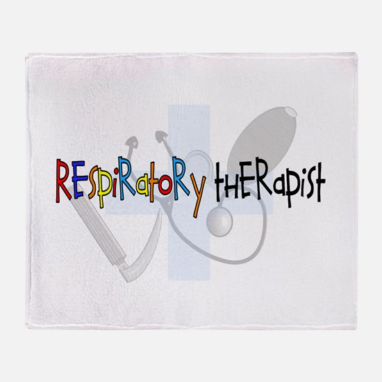 Respiratory Therapists XX Throw Blanket