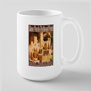 Mesa Verde National Park Large Mug