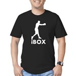 iBox Boxing Men's Fitted T-Shirt (dark)