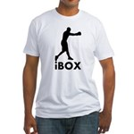 iBox Boxing Fitted T-Shirt