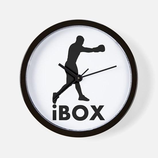 iBox Boxing Wall Clock