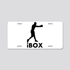 iBox Boxing Aluminum License Plate