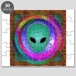 Alien Head Puzzle