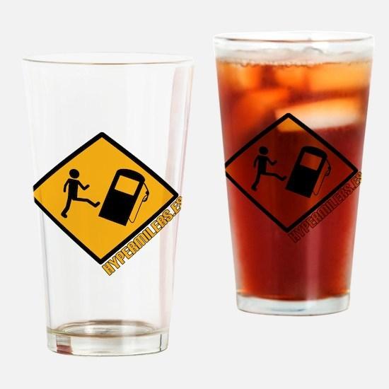 Hypermilers.es Drinking Glass