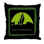 Jack and the Beanstalk Throw Pillow