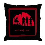 Old King Cole Throw Pillow