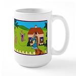 Edwardian Bunnies Large Mug