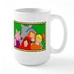 Fairy Tale Friends Large Mug