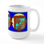 The Three Bears Large Mug