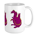 Three-Headed Dragon Large Mug